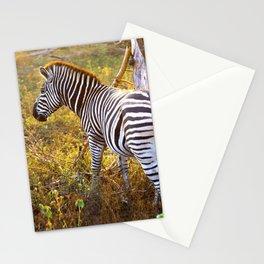 Zebra Sway Stationery Cards