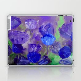 Breaking Dawn in Shades of Deep Blue and Purple Laptop & iPad Skin