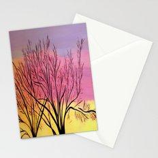 Winter's blush Stationery Cards