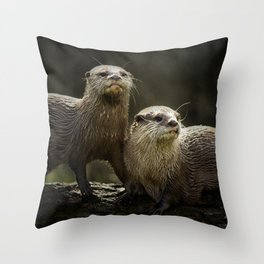 P-Ottering about Throw Pillow