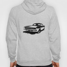 Dodge Charger Stencil Hoody