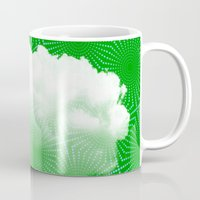 cloud Mugs featuring Cloud by Mr and Mrs Quirynen