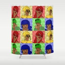 Crushin Shower Curtain