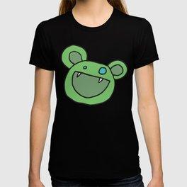 Slightly Amused Monsters, V Green T-shirt