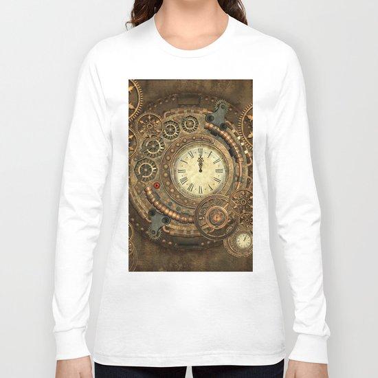 Steampunk, clockwork Long Sleeve T-shirt