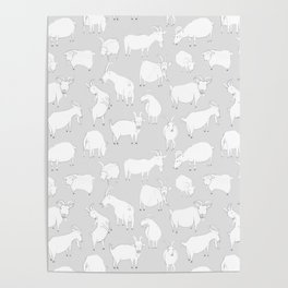 Charity fundraiser - Grey Goats Poster