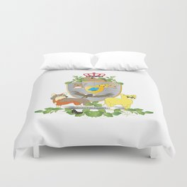 Coat of Arms 3 Duvet Cover