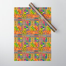 Kente Inspired Wrapping Paper