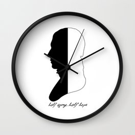 Jane Austen Persuasion Captain Wentworth  Wall Clock