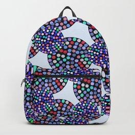 Blue Disco Backpack