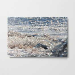 Ice Storm Alfalfa Metal Print