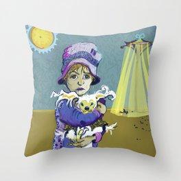 Betiolas 2 (Little Creature) Throw Pillow