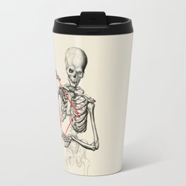 I need a heart to feel complete Travel Mug