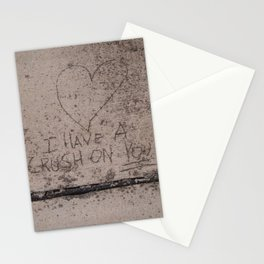 concrete crush Stationery Cards