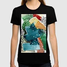 Turquoise Swirl T-shirt
