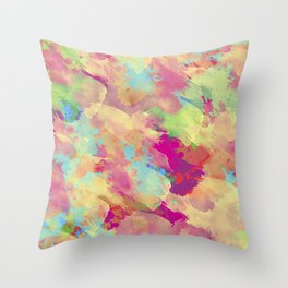 Abstract 40 Throw Pillow