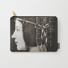 Bianca Sforza by Leonardo da Vinci Carry-All Pouch