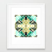 snake Framed Art Prints featuring Snake by SensualPatterns