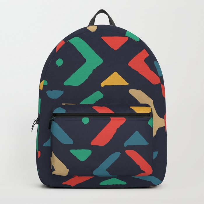 Colors of boomerang Backpack