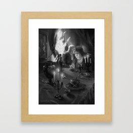 Paris is Burning Framed Art Print