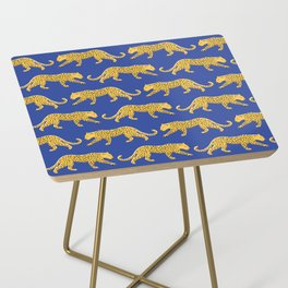 The New Animal Print - Blue Side Table