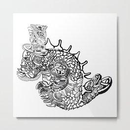 Underseadweller Metal Print
