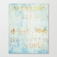 words Canvas Print