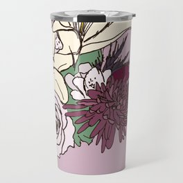 Flowers From The Universe Travel Mug