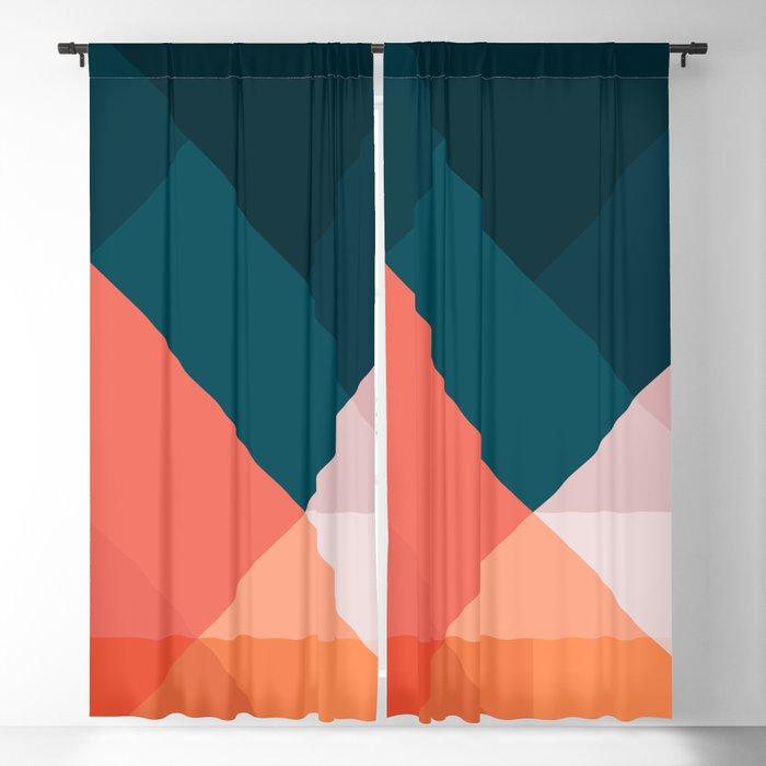 Geometric 1708 Blackout Curtain