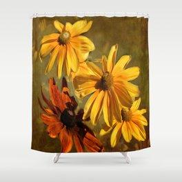 Sunshine in my Garden Two Shower Curtain