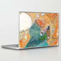 charizard Laptop & iPad Skins featuring Charizard by Luke Jonathon Fielding