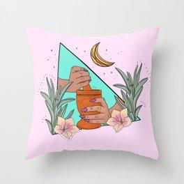Mujer Divina Throw Pillow