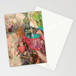 Mongol Queen Stationery Cards