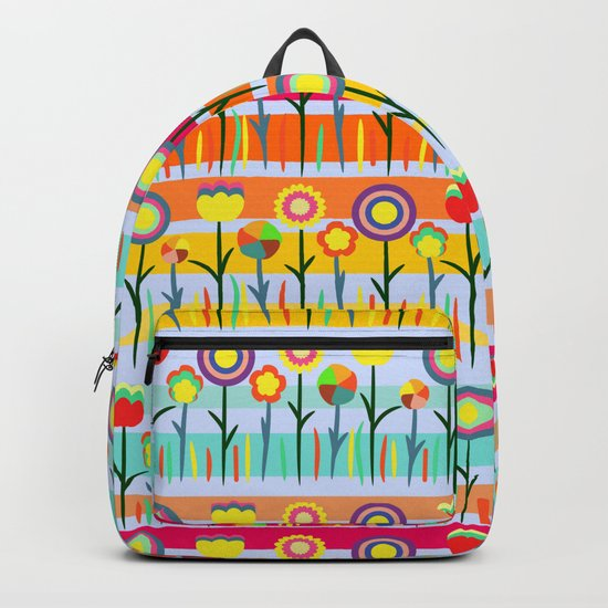 Floral spring party Backpack