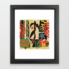 Inspired to Matisse (vintage) Framed Art Print