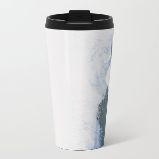 Inconspicuousness II  Metal Travel Mug
