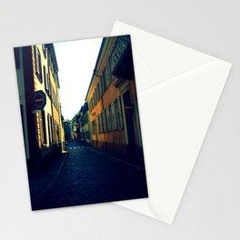 Simple Cobblestone Street. Stationery Cards