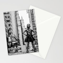 Fearless Girl New York City Stationery Cards