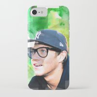 niall horan iPhone & iPod Cases featuring Niall Horan #1 by Sierra Ferrell