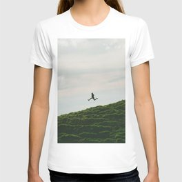 MAN - RUNNING - DOWNHILL T-shirt