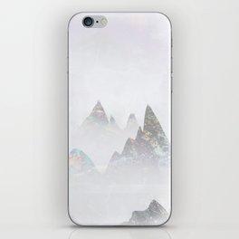Emerald Mountains iPhone Skin