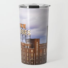 Montreal Farine Five Roses, Montreal Iconic, Urban photo, Architecture, modern Travel Mug