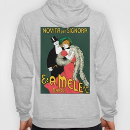 Mele Napoli Italian belle epoque ladies fashion Hoody