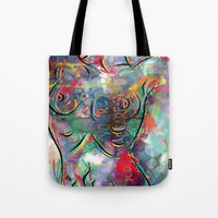 body Tote Bags featuring body by mark ashkenazi