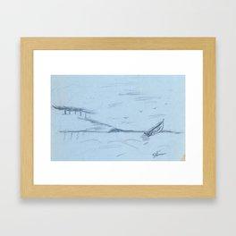 Sailing 2 Framed Art Print