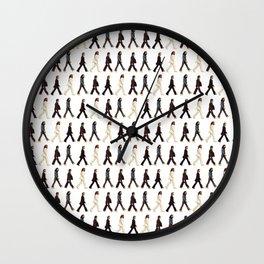 Pattern Abbey Road Wall Clock