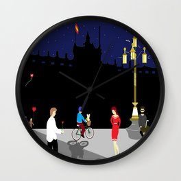 Royal Palace of Madrid Wall Clock