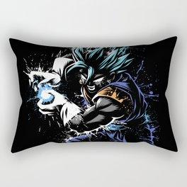Splatter Kame Fusion Rectangular Pillow