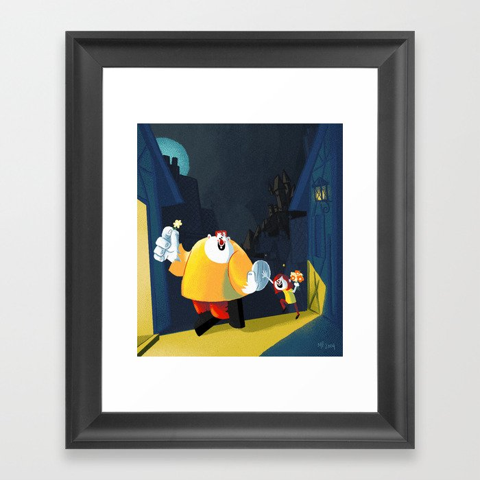 Best Buds Framed Art Print