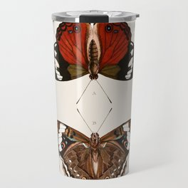 Vintage Butterfly Chart III Travel Mug
